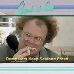 """<a href=""""http://eater.com/archives/2012/03/19/watch-dr-steve-brule-dumpster-dive-for-seafood.php"""">Watch Dr. Steve Brule Dumpster Dive For Seafood</a>"""