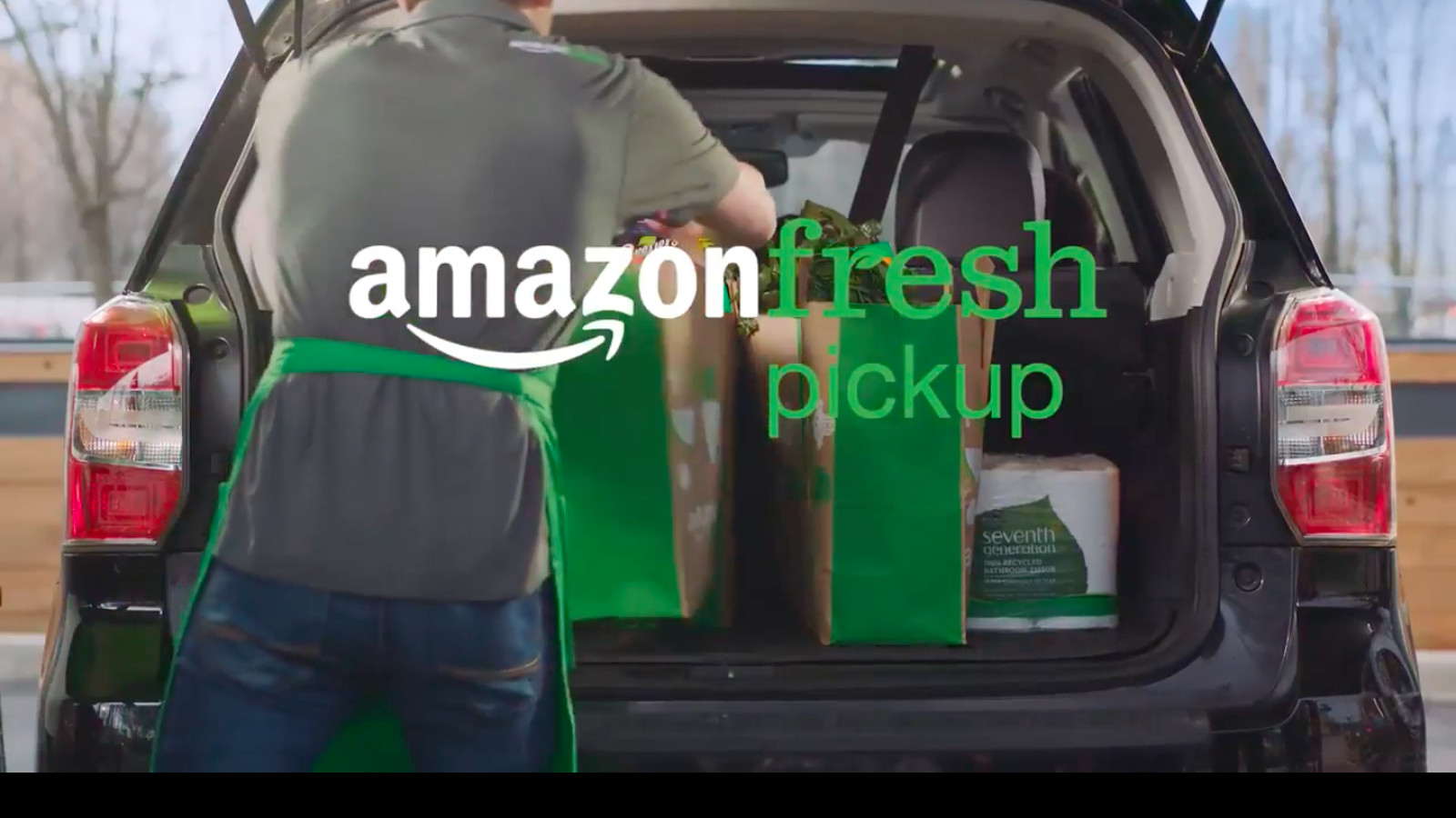 Amazon Launches New Service To Deliver Groceries Your Trunk