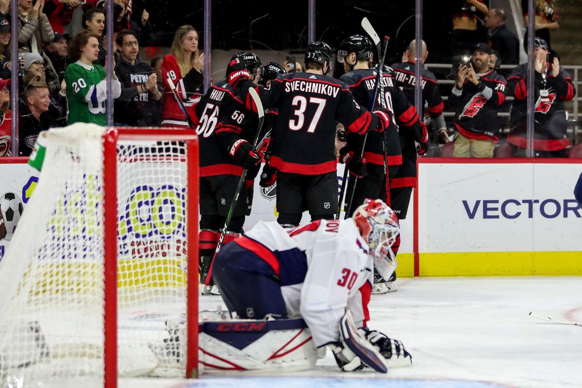 NHL: JAN 03 Capitals at Hurricanes