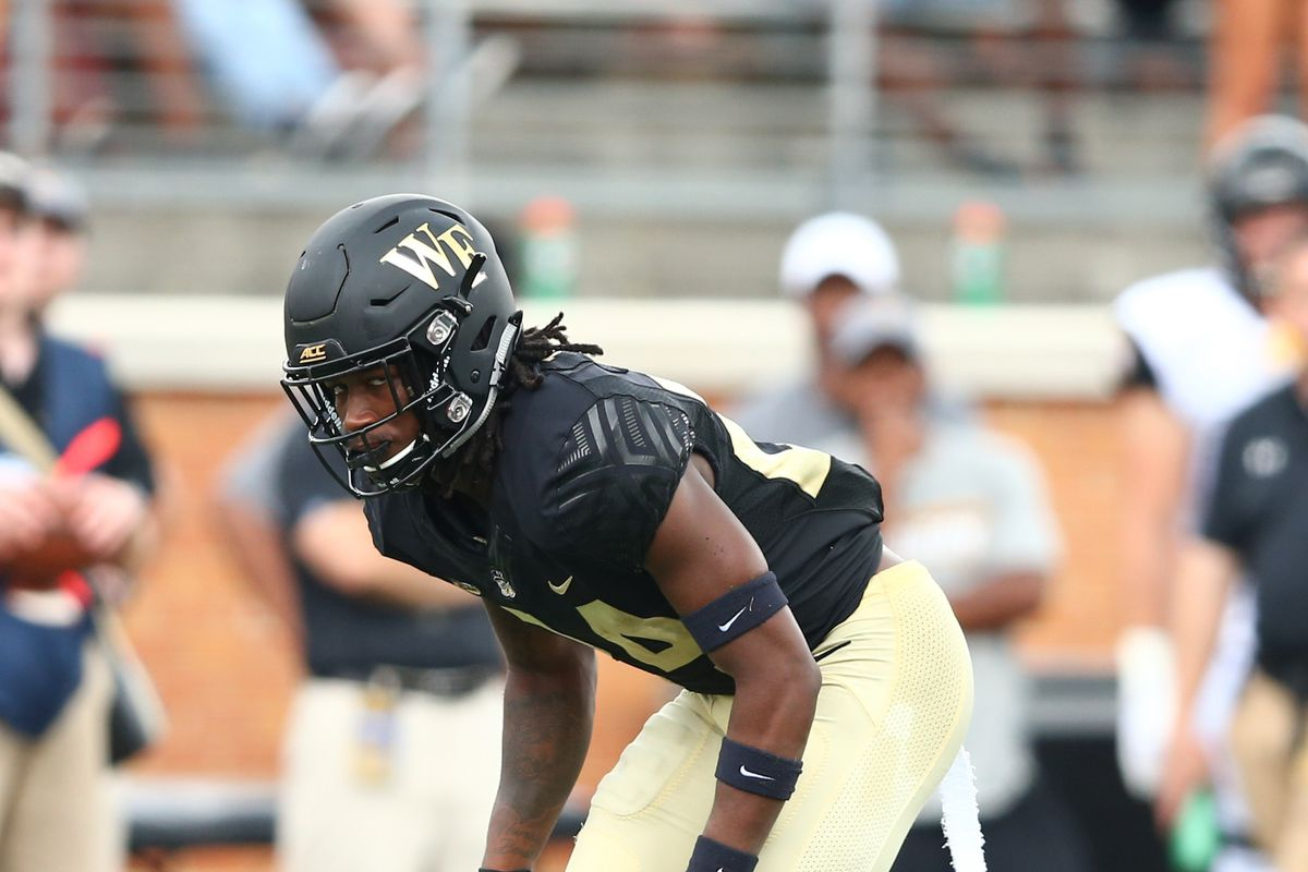 Jeremy Brevard Usa Today Sports Wake Forest Released Their Depth Chart For Home Contest