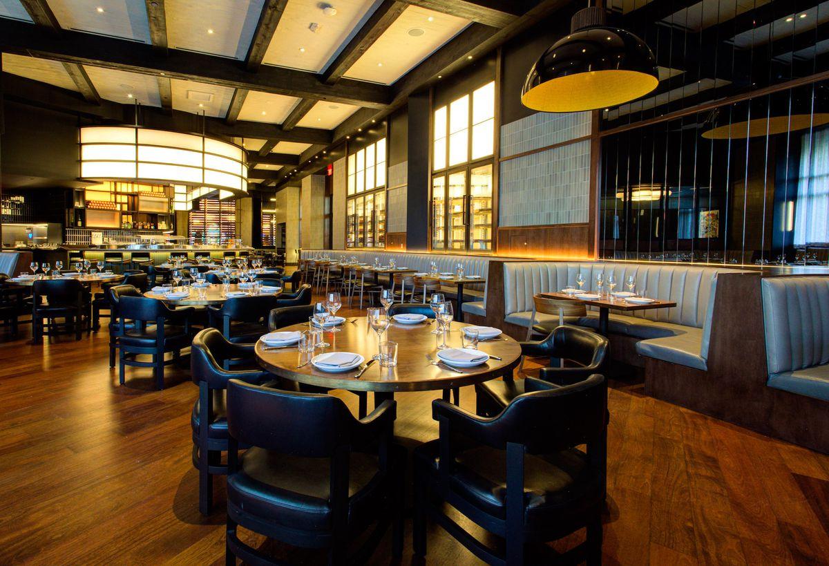 The main dining room at Majordomo