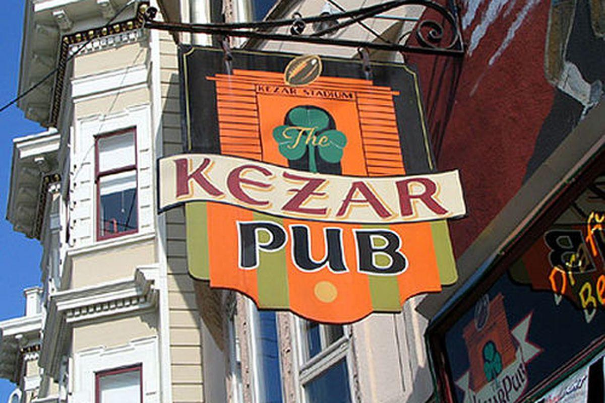 Kezar Pub, sports-watching central.