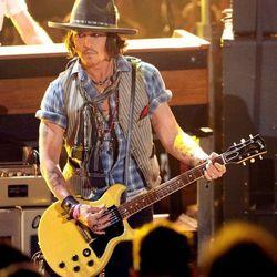 Johnny Depp, Raidor of the Lost Guitar Solo