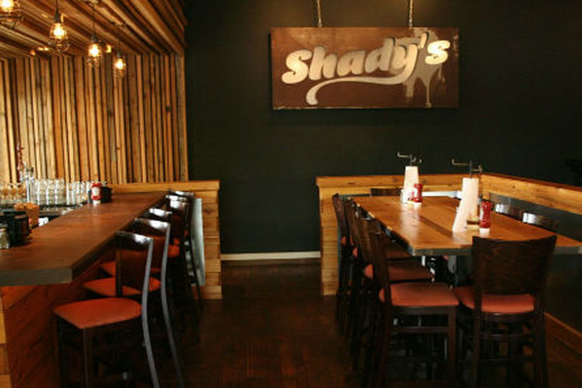 Shady's Burger Joint in Richardson.