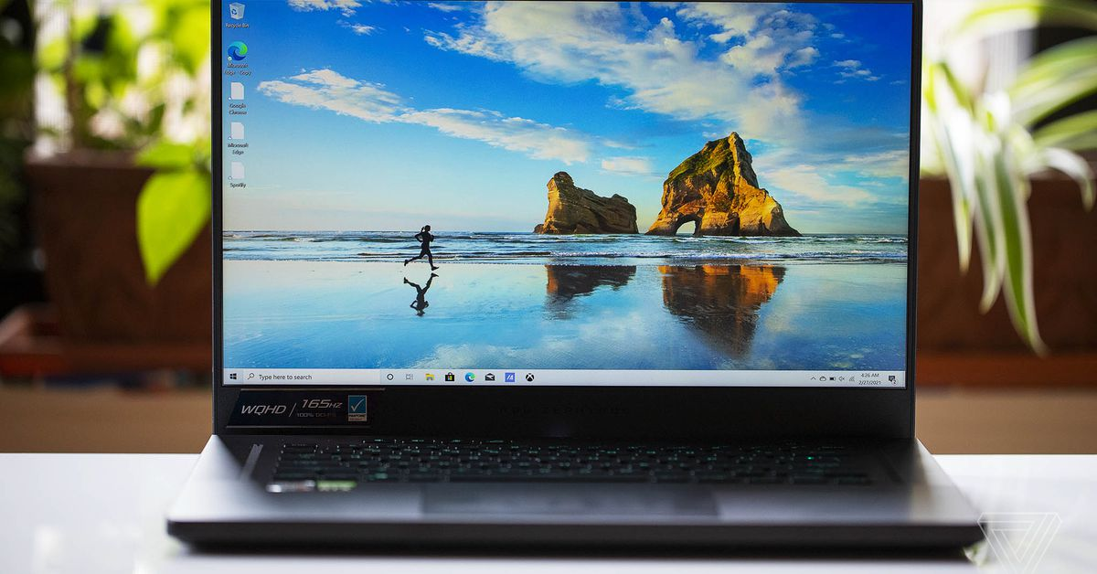 Asus ROG Zephyrus G15 review: AMD and Nvidia at their best