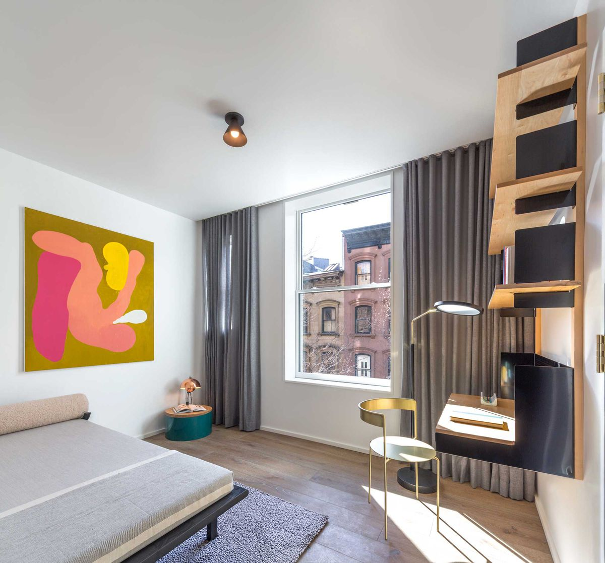 superman s supposed brooklyn heights apartment is now a. Black Bedroom Furniture Sets. Home Design Ideas