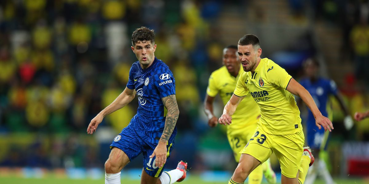 Watch: Pulisic nearly puts Chelsea back in the lead against Villarreal