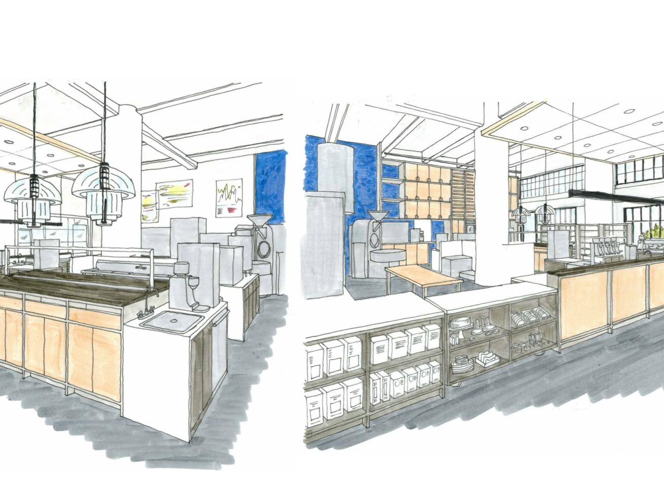 Renderings for Manufactory in Los Angeles