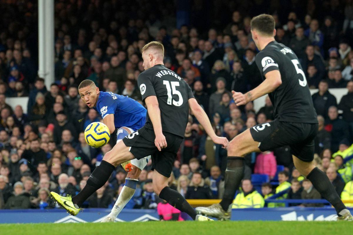 Everton v Brighton and Hove Albion - Premier League - Goodison Park