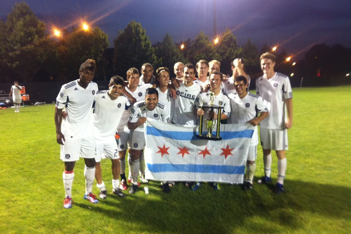 Chicago Fire PDL with the Chicago Classic Cup