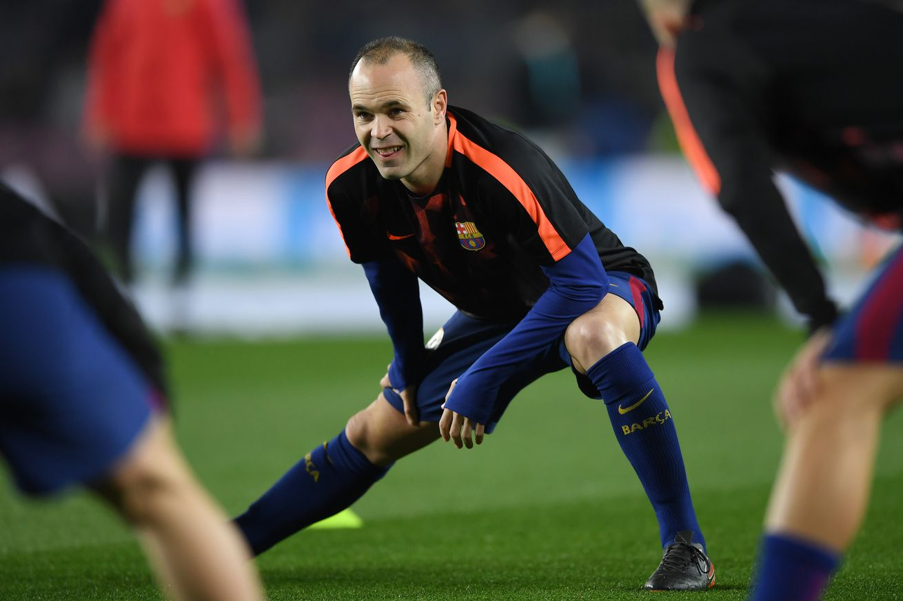Lopetegui says Iniesta ?better than last year? and plays down Pique injury concerns