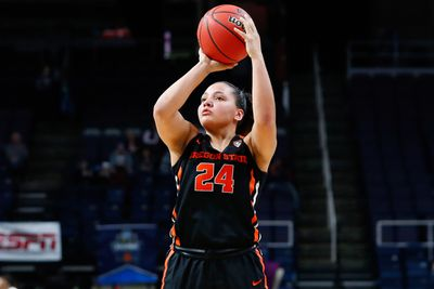 NCAA Womens Basketball: NCAA Tournament-Albany Regional-Oregon State vs Louisville