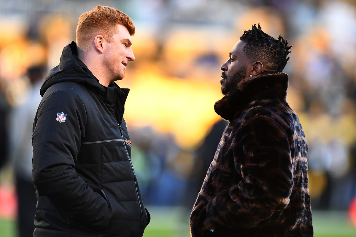 new product 2b785 c84a4 The Pittsburgh Steelers and Antonio Brown must find a way to ...