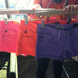 More spring shorts in blinding neon