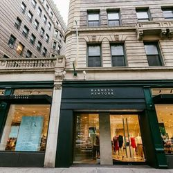 """<b>↑</b> Formerly a Co-op, the newly transformed <a href=""""http://www.barneys.com/Store-Locations/STORE_COOP_UWS,default,pg.html""""><b>Barneys New York</b></a> (2151 Broadway) is a more compact, concise version of the iconic luxury superstore on Madison Aven"""