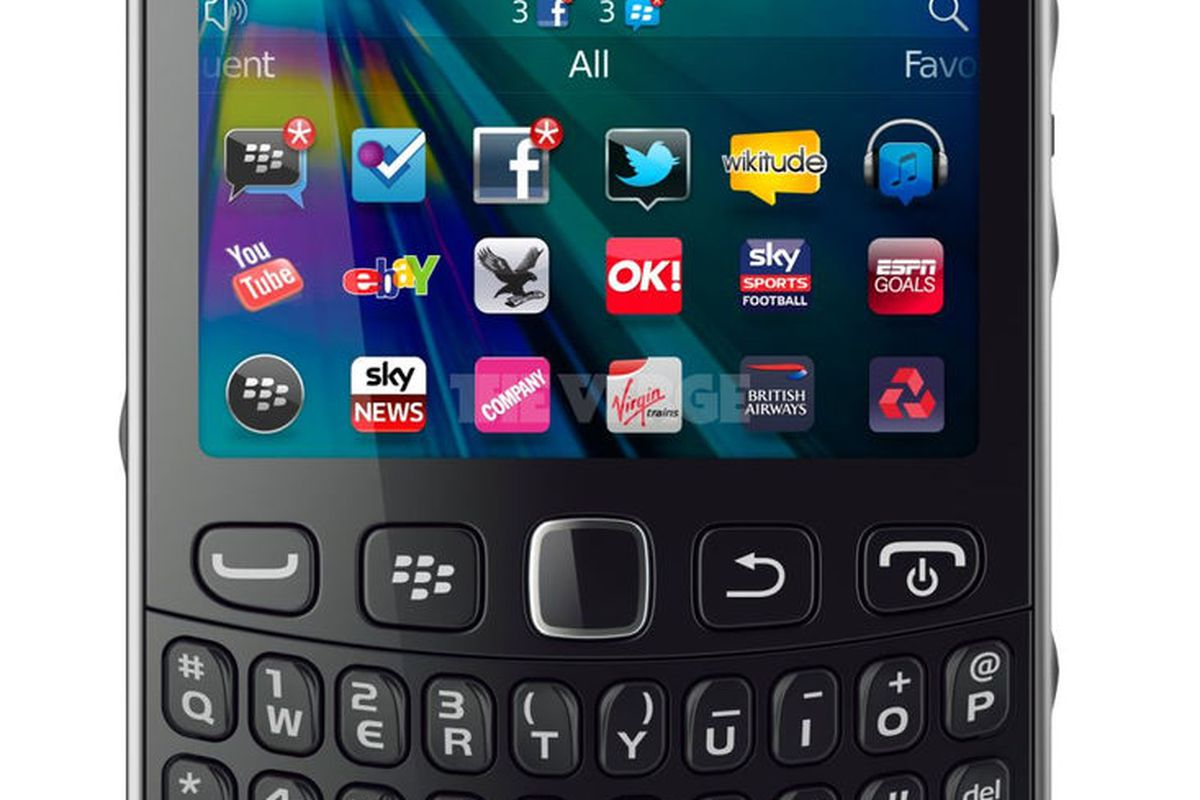 Gallery Photo: BlackBerry Curve 9320 revealed in press images