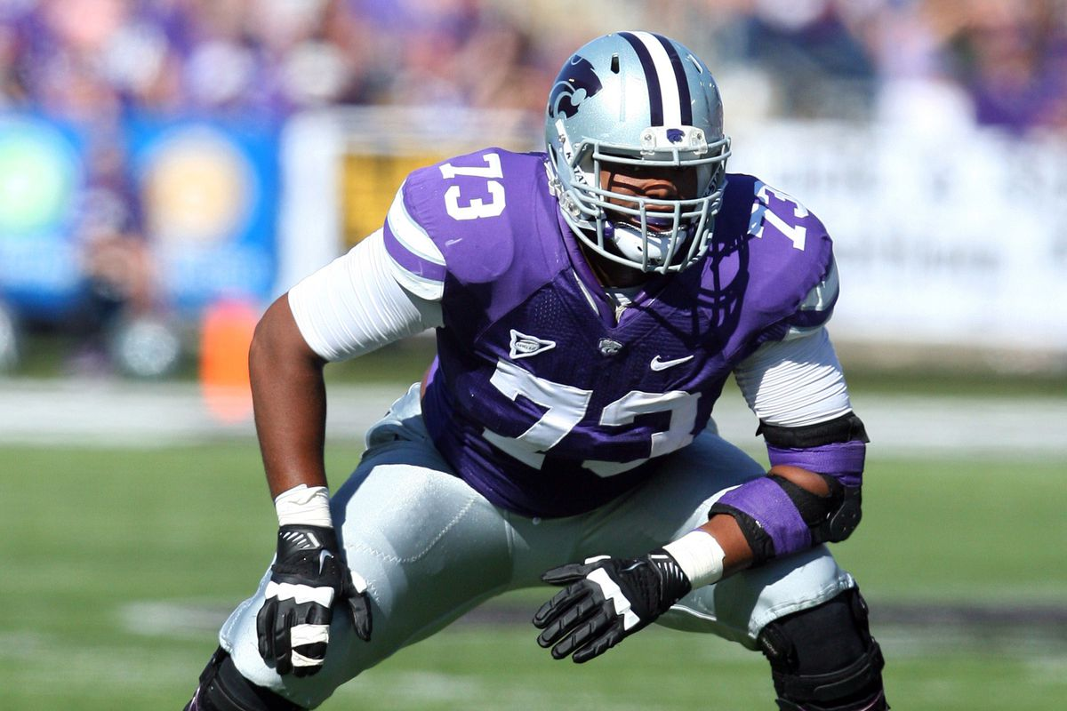 A.J. Allen will inherit both Tavon Rooks' No. 73 and his responsibilities as the starting right tackle, if not left tackle.