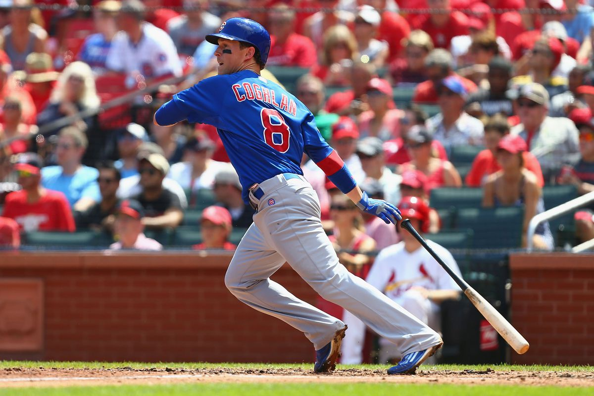 He may not normally be the Superhero, but Chris Coghlan is on the podium once again.