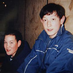 Michael Gulbraa took photo of his sons, Christopher and Michael, in December 2002, the only time he's seen them in the past three years.