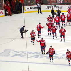 Ovechkin Looks to Crowd After Playoff Win