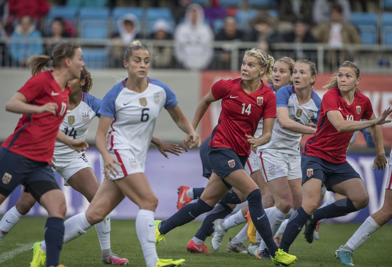 Norway Women v USA Women - International Friendly