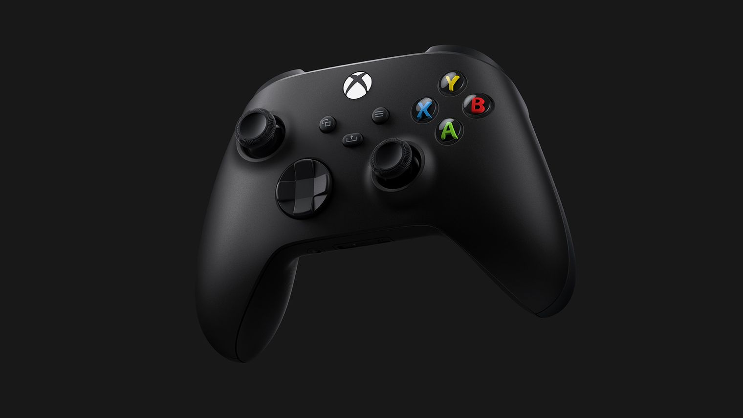 Control negro del Xbox Series X