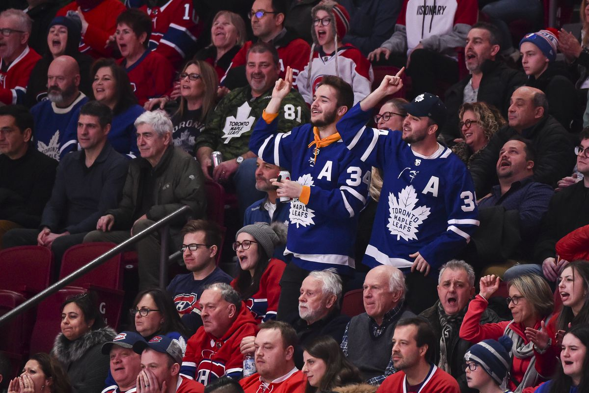 Toronto Maple Leafs v Montreal Canadiens
