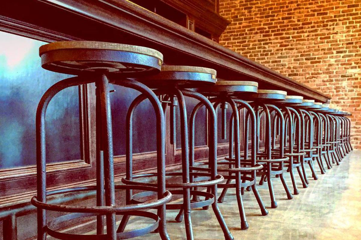 Inside Iron Triangle Brewing