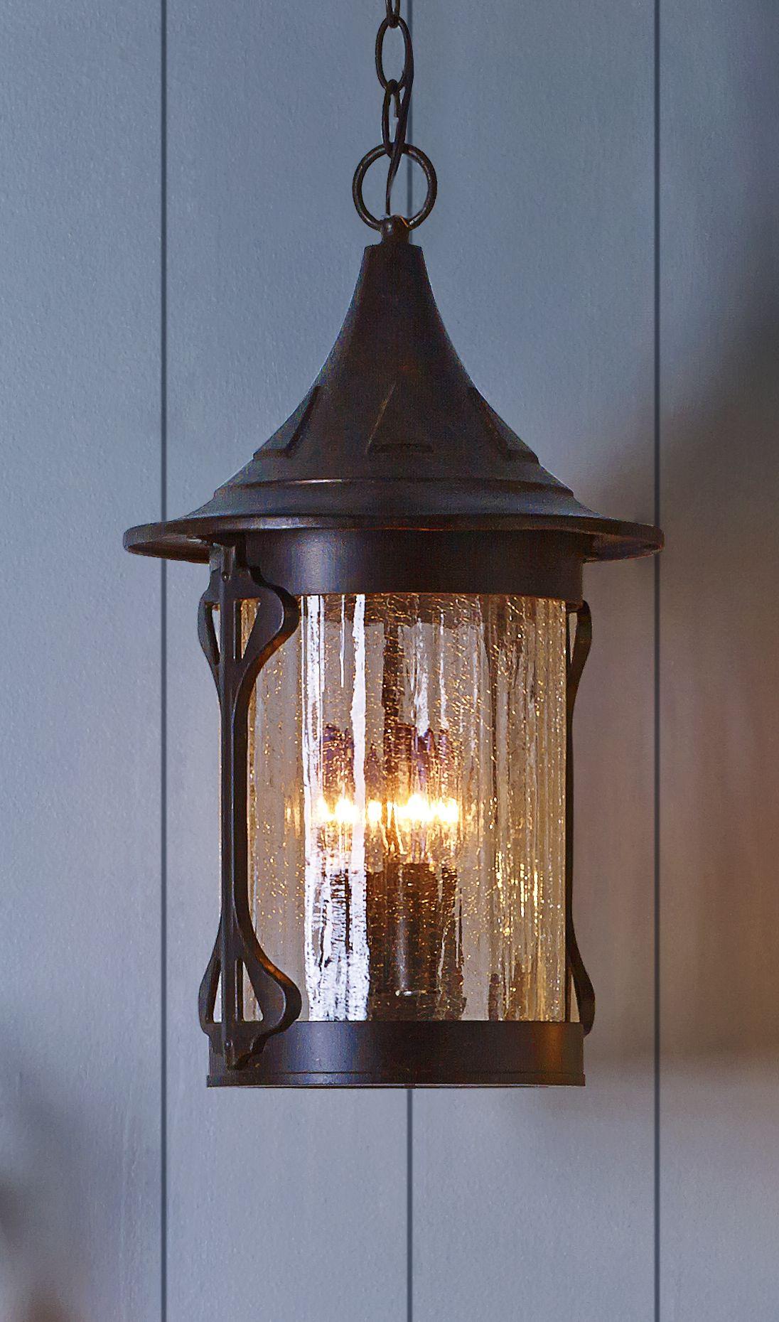 Tudor Revival Outdoor Lamp