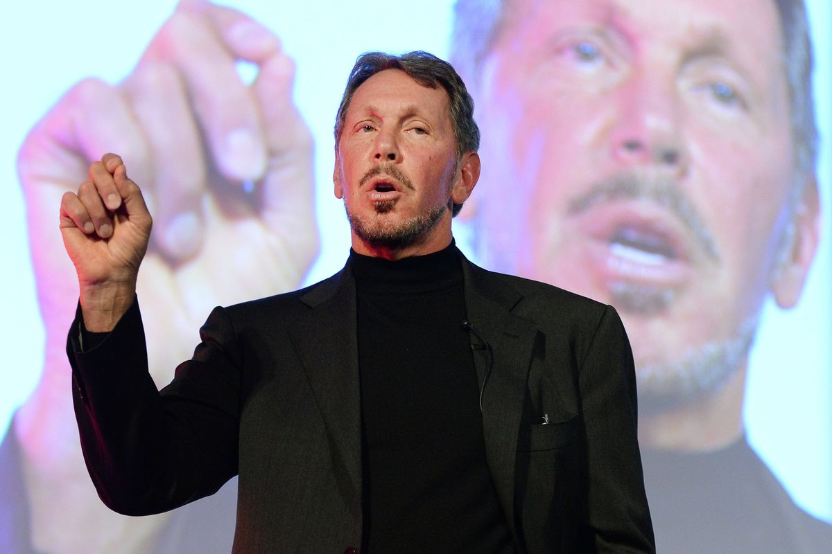 Oracle CEO Larry Ellison received $78.4 million in compensation last year — arguably enough for two of him (and then some).