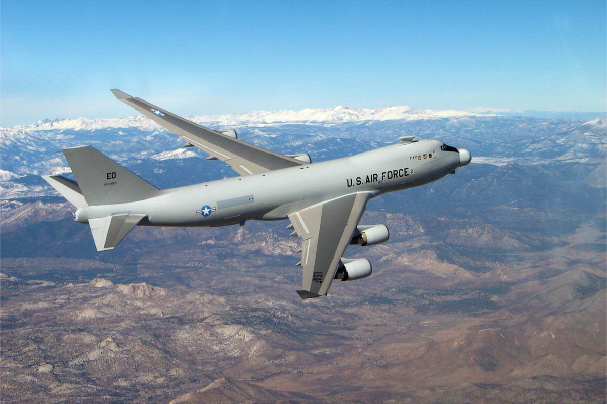 Laser Equipped 747 Missile Buster Flies Last Flight
