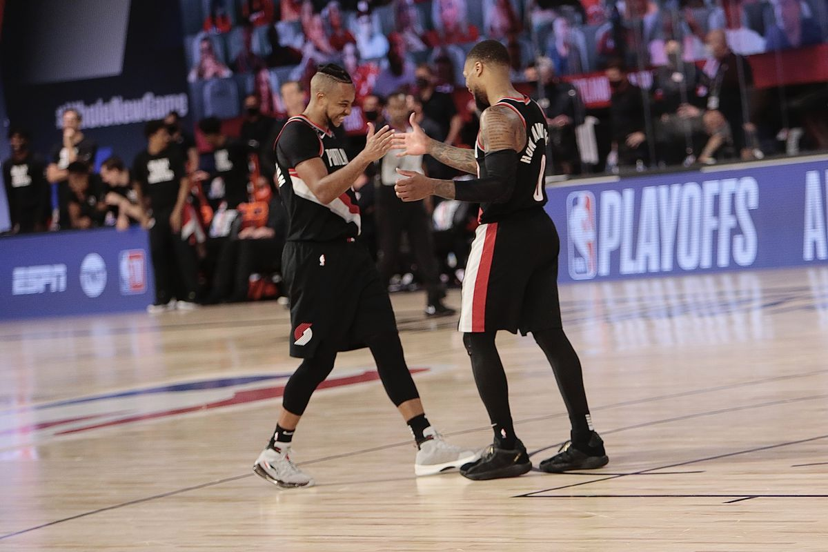 Memphis Grizzlies v Portland Trail Blazers - Game One Play-in