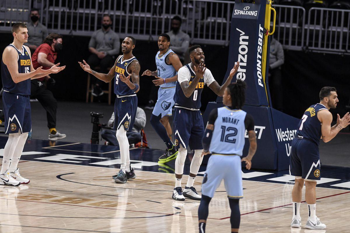 DENVER NUGGETS VS MEMPHIS GRIZZLIES, NBA