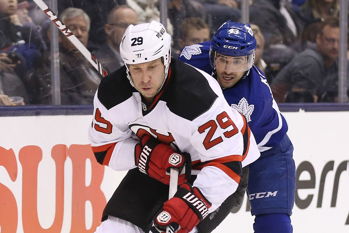Devils got ahead of the Leafs for the puck but they could not keep them away from the result.