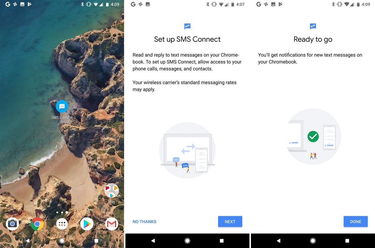 Android 8 1 may let you send and receive text messages on