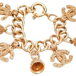 <b>Chanel</b> '90s vintage charm bracelet, $2250.