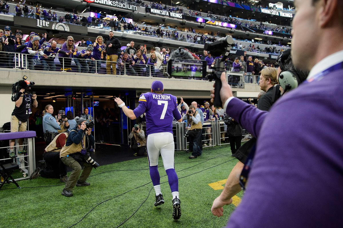 2018 Nfl Playoff Predictions Vikings Will Be First Home