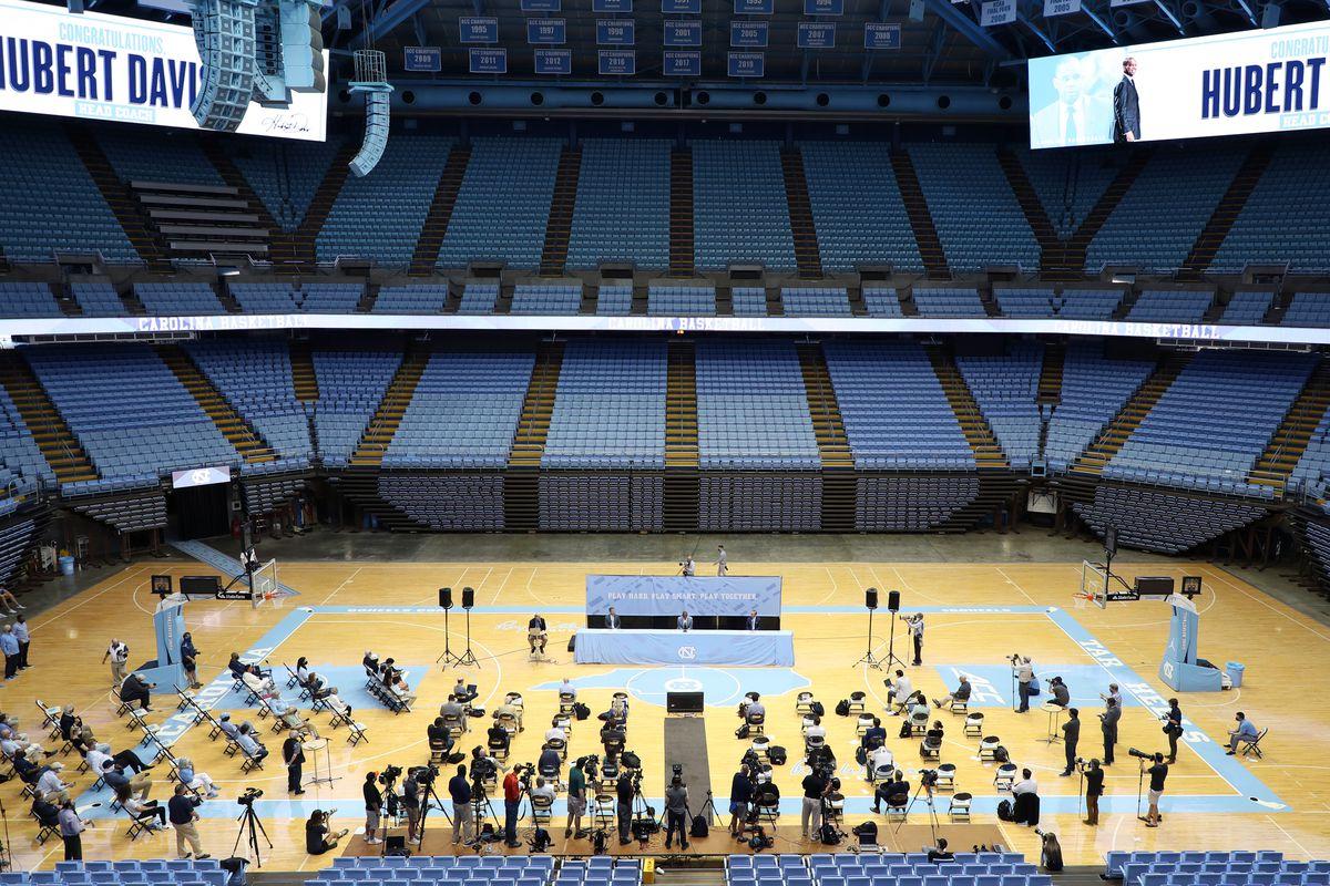 North Carolina Introduce Hubert Davis
