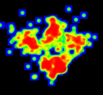 Dom Smith 2015 Heat Map