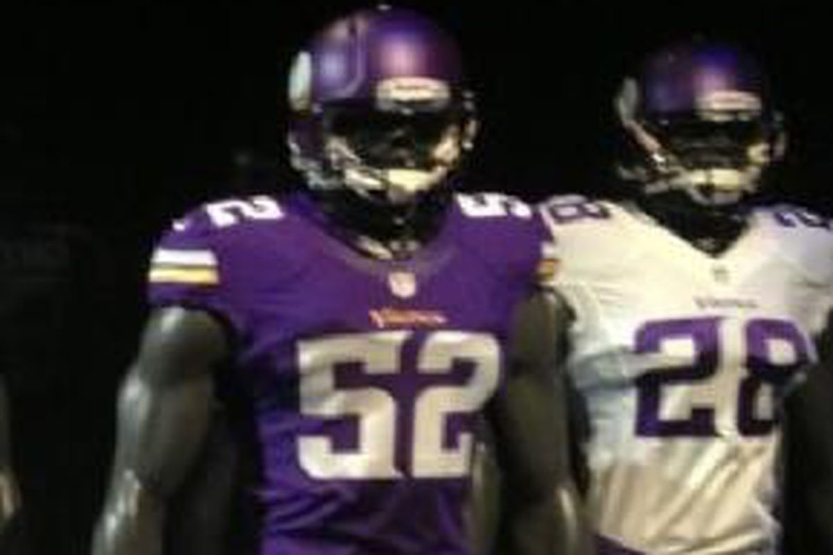 The 2013 Vikings are going to look good.