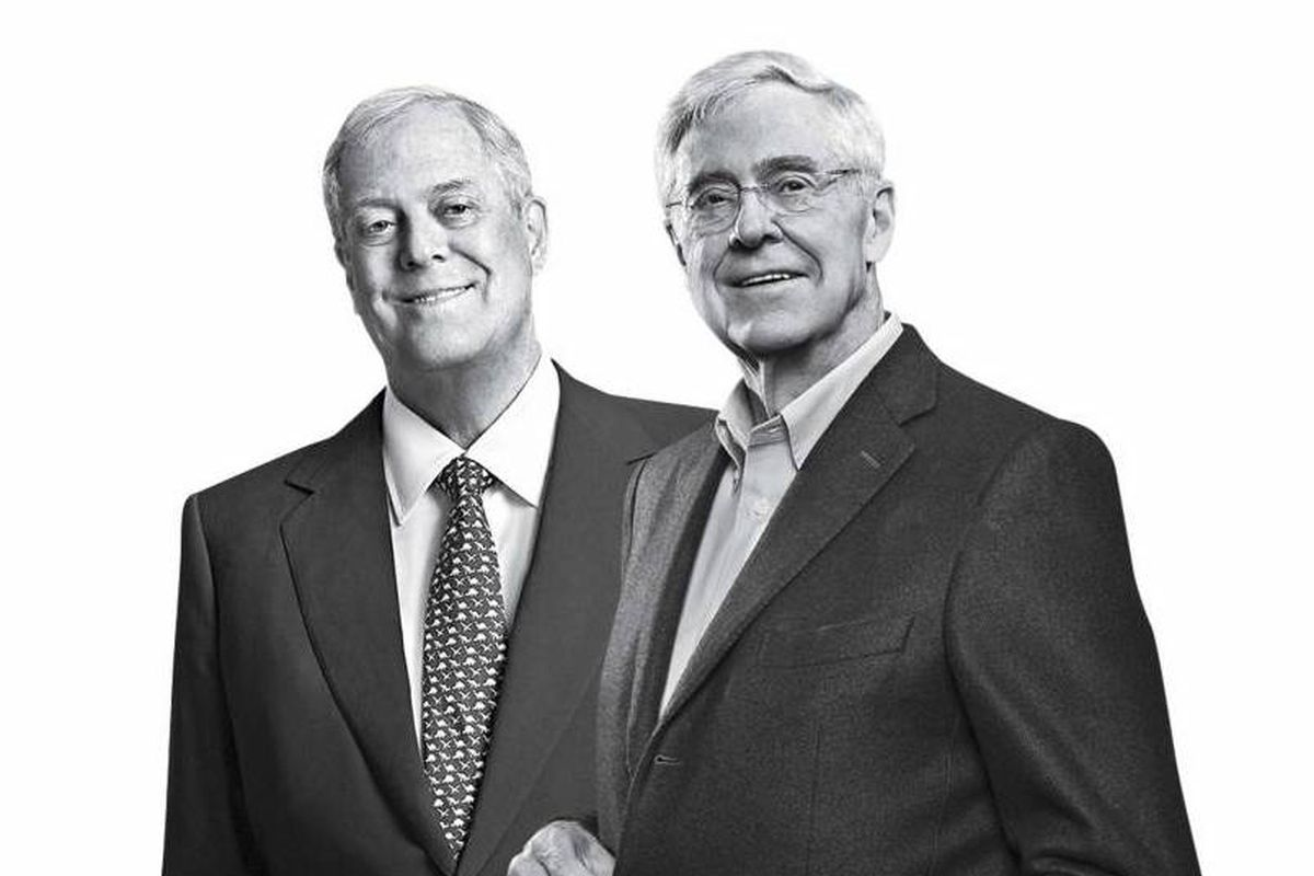 Recode daily politically conservative meredith corp for Charles und david koch
