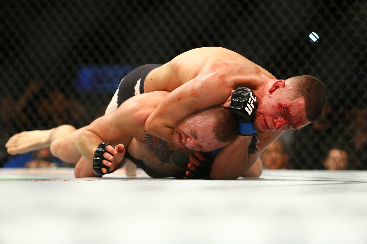 Nate Diaz: Don't Count On Conor vs. Diaz Rematch After Floyd Fight class=