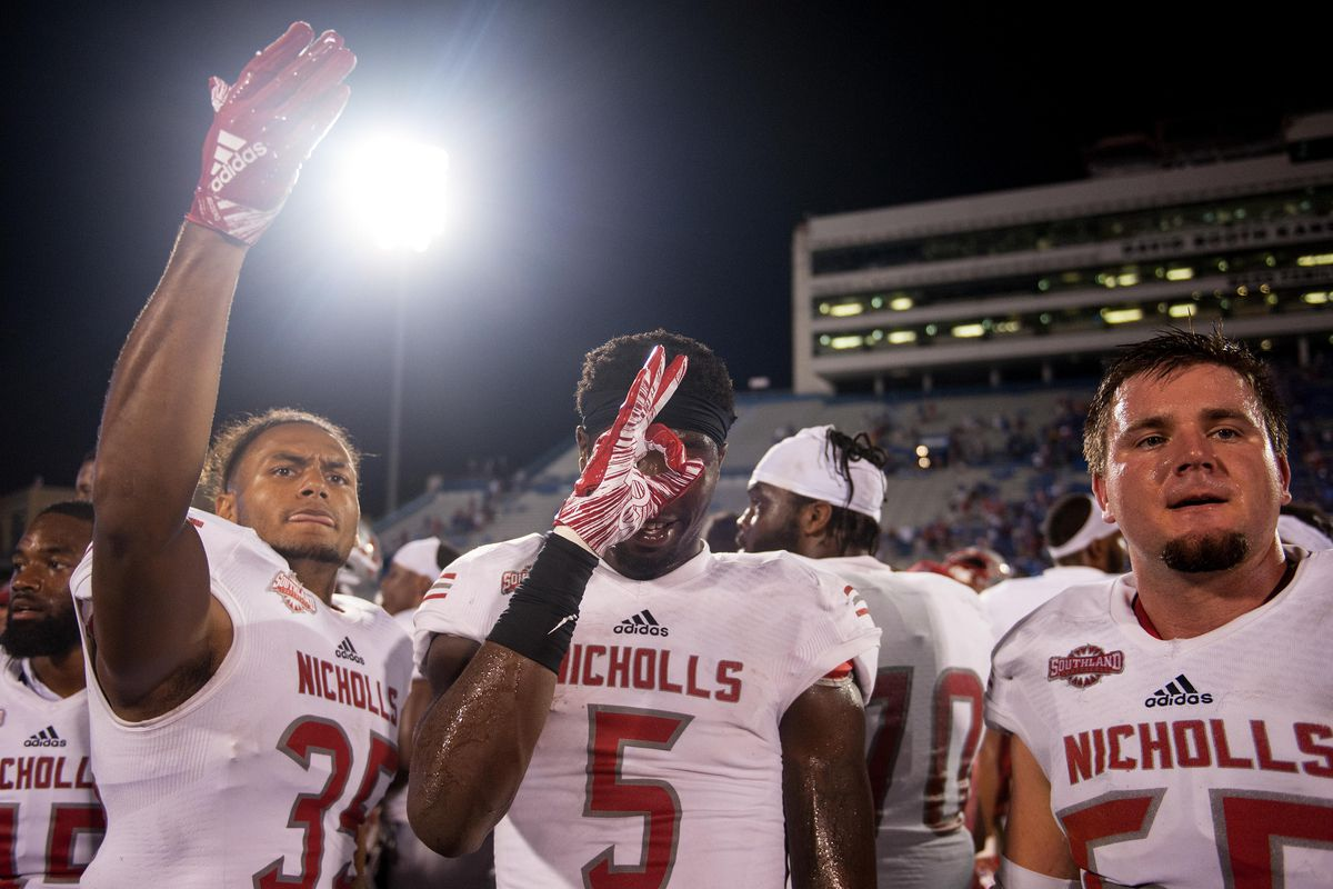 newest a5954 15715 FCS Game of the Week Preview: No. 13 Nicholls State at No ...