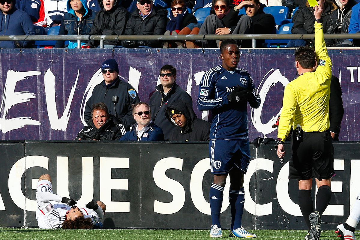 Thinking of hitting the panic button on Sporting KC already? Hold on; yellow card to you, sir or ma'am.