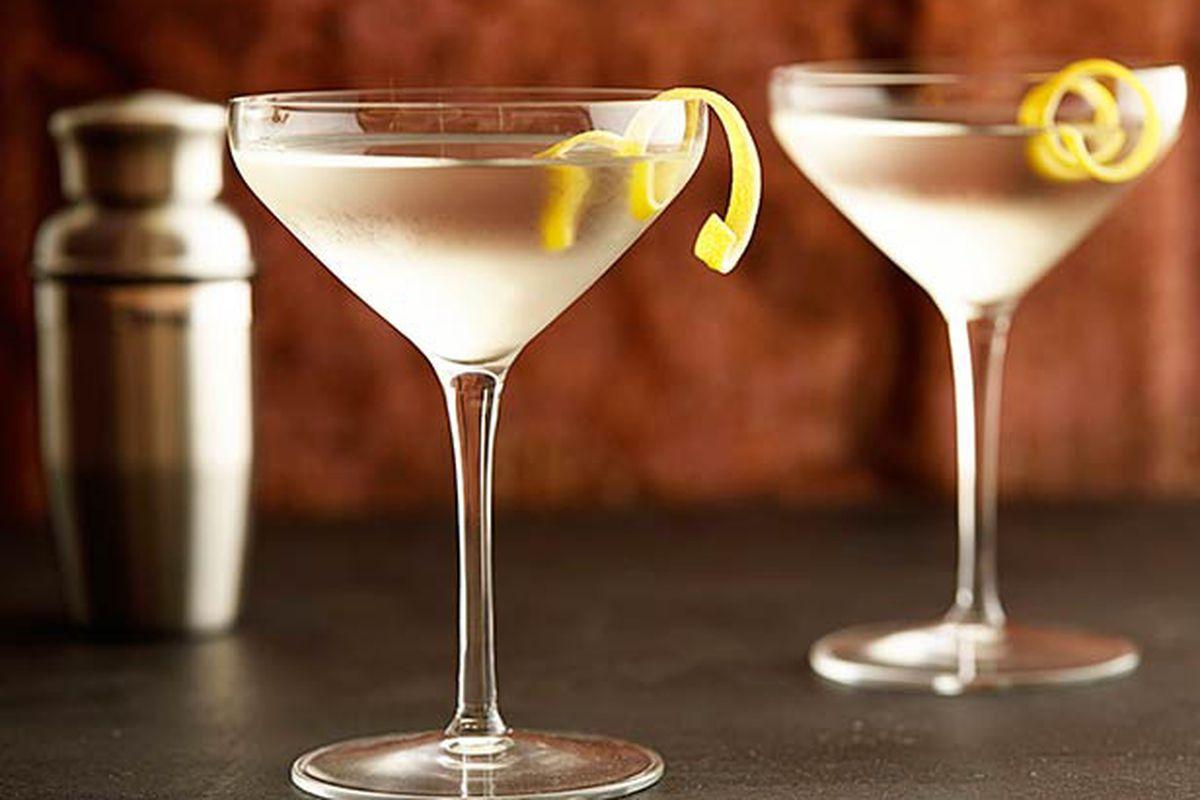 Martinis at Il Giallo.
