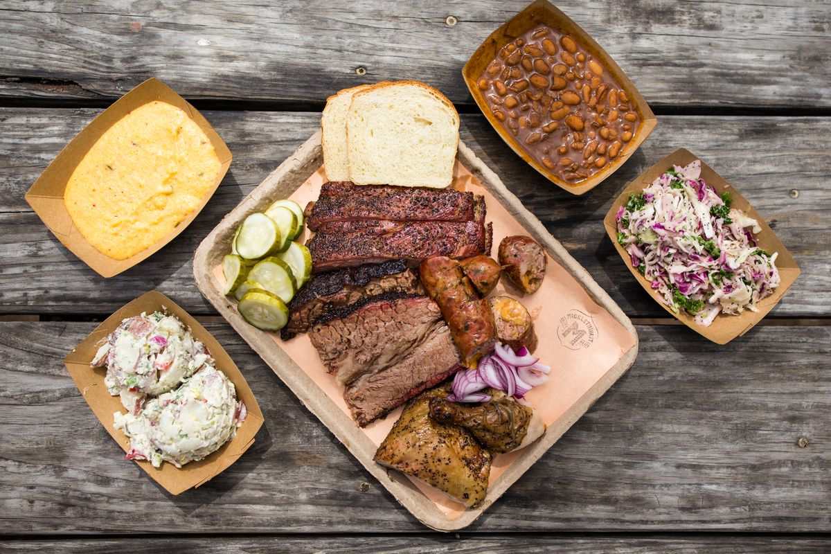Micklethwait Market and Grocery's barbecue and sides