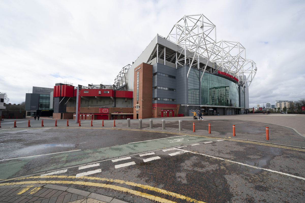 Manchester United's Old Trafford Stadium will remain empty for the foreseeable future.