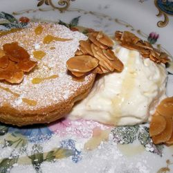 """Almond tart from What Happens When by <a href=""""http://www.flickr.com/photos/37619222@N04/5582980343/in/pool-eater/"""">moosefan68</a>."""