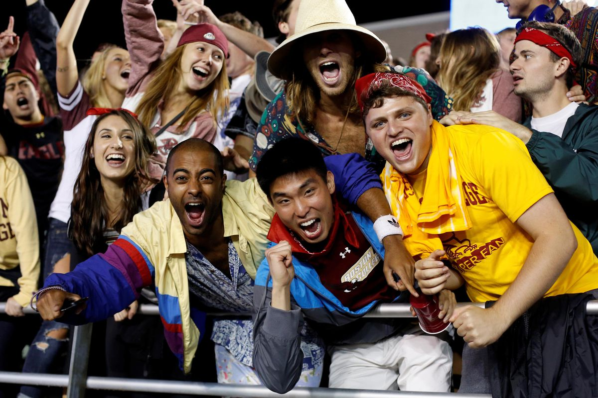 BC fans psyched learning Eagles favored at Pack