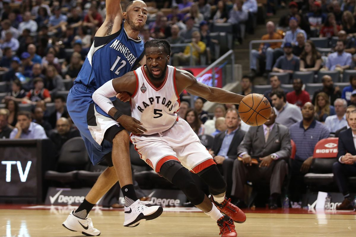 The Toronto Raptors will look to make it two straight victories over the Minnesota Timberwolves on Wednesday